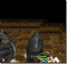 スキル3:キャラの真下から岩を突き上げる