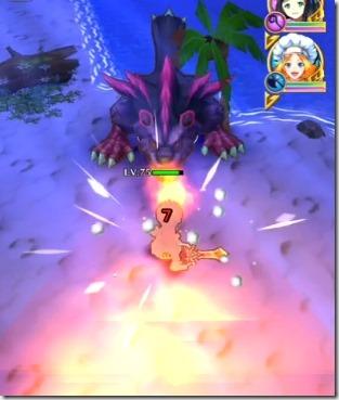 スキル3:炎ブレス攻撃