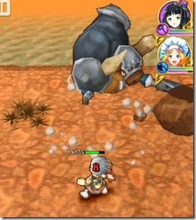 ミノタウロス種の通常攻撃